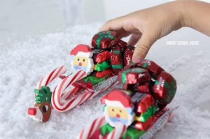 How to Make Candy Sleigh