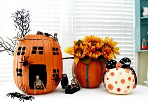 How to Make Styrofoam Pumpkins
