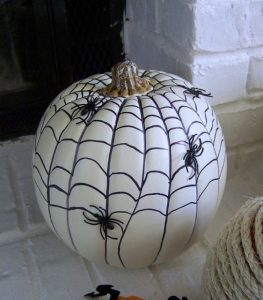 Images of Painted Pumpkins