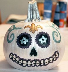 No Carve Pumpkin Painting Design