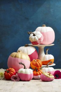 Painted Pumpkin Decorating Ideas
