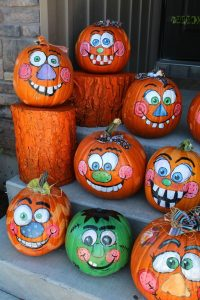 Painted Pumpkin Ideas for Kids