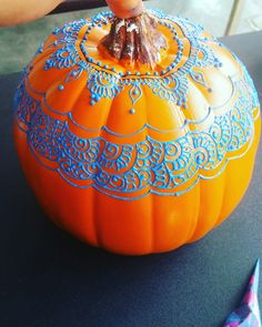 Pumpkin Painting Design