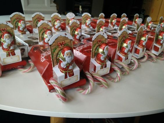 15 DIY Candy Sleigh Craft Ideas for Christmas