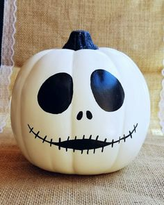 White Pumpkin Painted Ideas