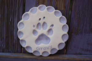 Paw Print Ornament Photos
