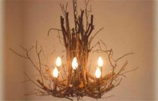 Twig Chandeliers