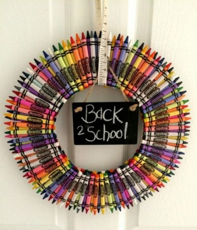 Crayon Wreath Pictures