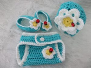 Crochet Baby Diaper Cover