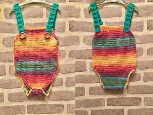 Crochet Diaper Romper Cover Pattern