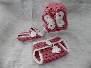 Easy Crochet Diaper Covers