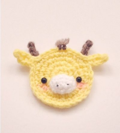 Applique Giraffe Crochet Pattern