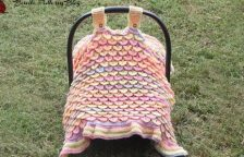 Baby Car Seat Cover Crochet Pattern