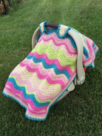 Crochet Car Seat Cover Pattern