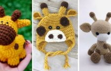 Crochet Giraffe Patterns Free