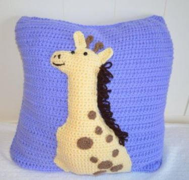 Crochet Giraffe Pillow Pattern
