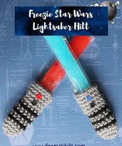 Crochet Pattern Star Wars Light Saber Hilt