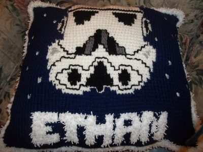 Crochet Star Wars Pillow Pattern