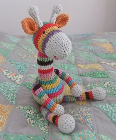 Crochet Striped Giraffe Pattern