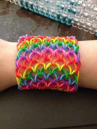 DIY Dragon Scale Cuff Bracelet