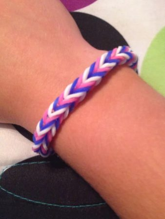 Fishtail Rainbow Loom Bracelets