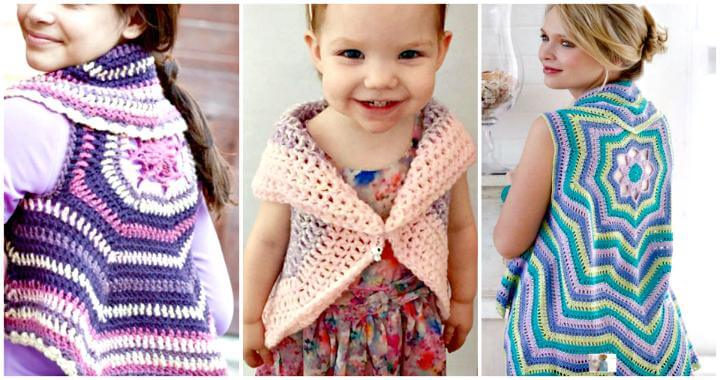 30 Crochet Vest Patterns Free Pdf Ideas For Diy