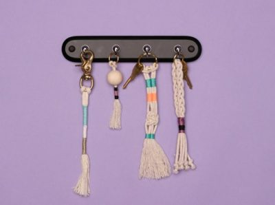 How to Make a Macrame Keychain