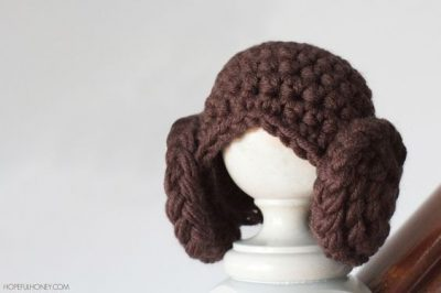 Princess Leia Beanie Crochet Pattern