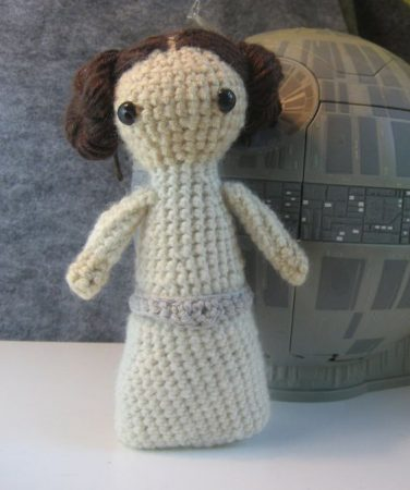 Princess Leia Doll Crochet Pattern