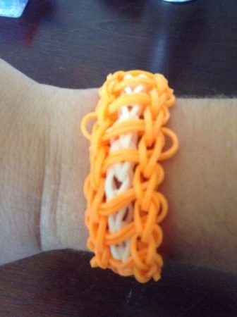 Rainbow Loom Ladder Bracelet Instructions