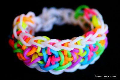 Sailor Knot Rainbow Loom Bracelet