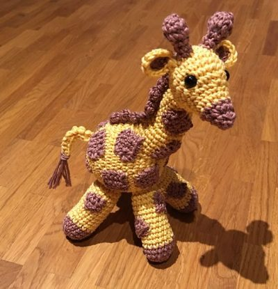 Small Giraffe Crochet Patterm