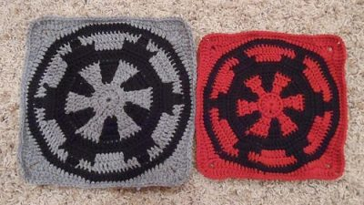 Star Wars Afghan Crocheted