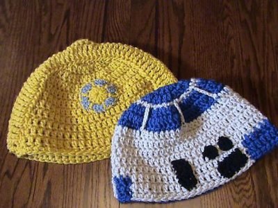Star Wars Crochet Beanies Pattern