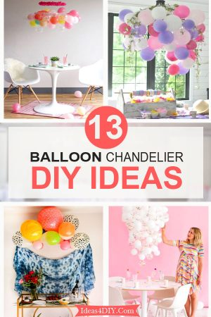 Balloon Chandelier DIY Ideas