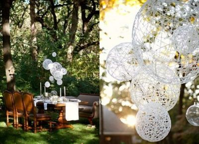Balloon String Chandelier