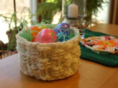 Basket Weave Crochet Pattern