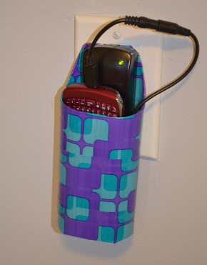 Cell Phone Charger Holder DIY