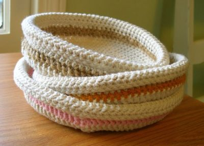 Crochet Basket Tutorials
