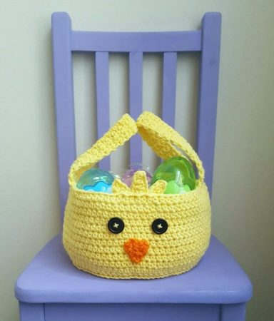 Crochet Easter Basket Pattern Free
