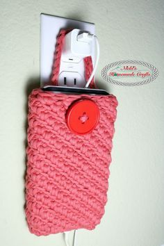 Crochet Phone Charger Pouch Pattern