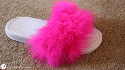 DIY Fur Slides