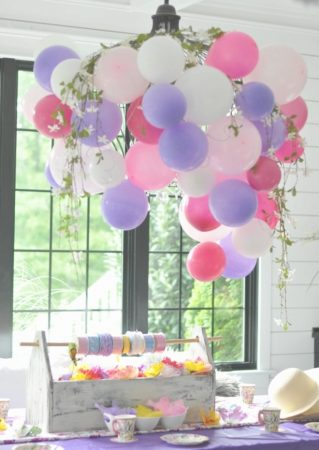 Decorative Balloon Chandelier