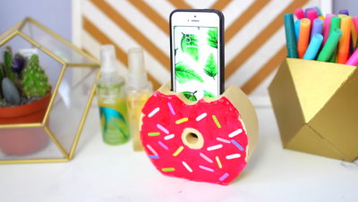 Donut Mobile Phone Holder