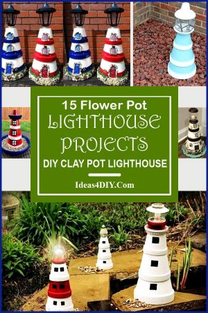 Flower Pot Lighthouse Projects