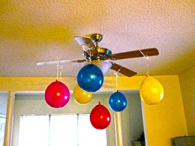 Hanging Balloon Chandelier