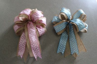 How to Make a Burlap Wreath Bow