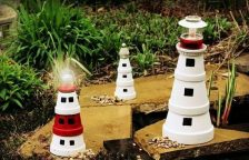 Lighthouse Clay Pot Project