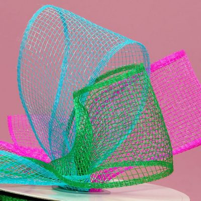 Make a Deco Mesh Bow