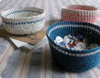 Mini Crochet Basket Patterns